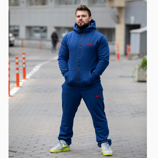 Winter sport suit indigo